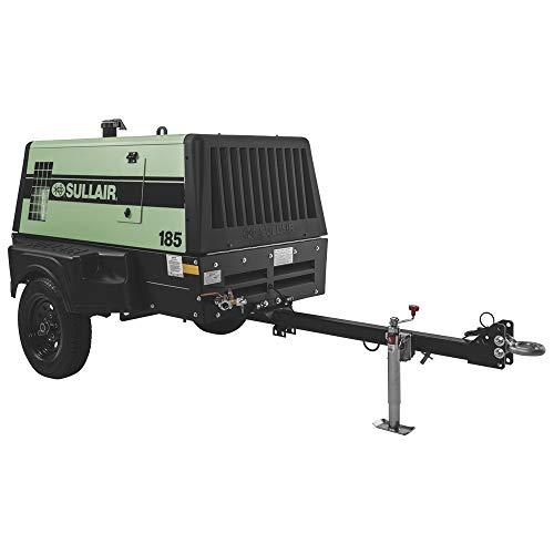 Sullair 185 Tier 4 Final Portable Air Compressor - 185 CFM @ 100 PSI, 49 HP Diesel, Model# 185 T4F DPQ L/F