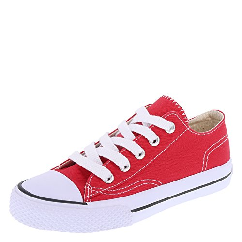 Red Canvas Shoes for Boys