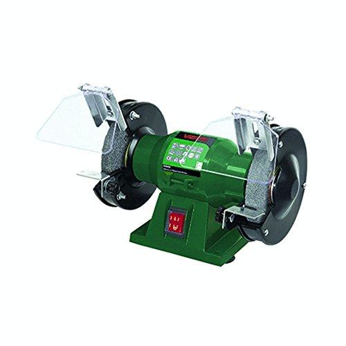 GRUPA Topex 51G425Doppelschleifmaschine, Schleifstein 120W 125mm x 12,7mm dunkelgrün Intense