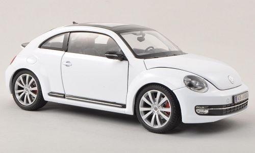 VW Beetle, weiss , 2012, Modellauto, Fertigmodell, Welly 1:24