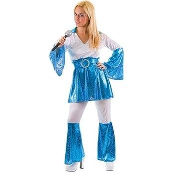 70s - Disfraz de cantante para mujer, talla L: Amazon.es: Juguetes ...