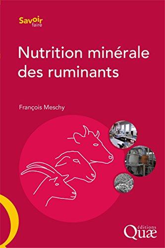 Nutrition minérale des ruminants (Savoir faire)