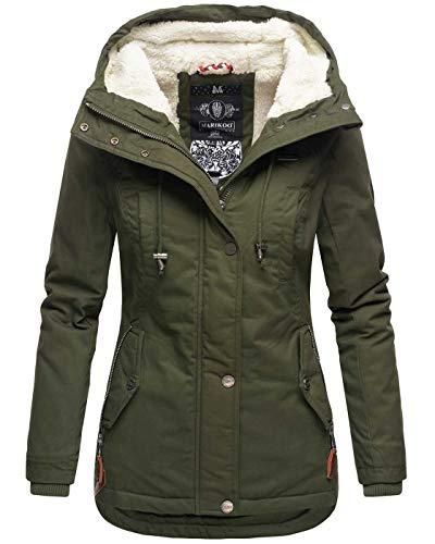 Marikoo warme Damen Winter Jacke
