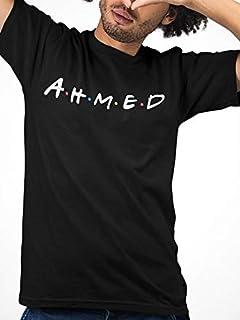 AHMED ATIQ T-Shirt for Men, XL