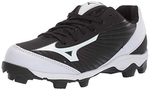 Mizuno (MIZD9 Baseball Cleat Shoe, Red/White, 1.5 Youth US Little Kid