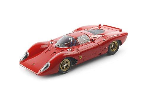 Ferrari 312P Berlinetta, rot , 1969, Modellauto, Fertigmodell, CMC 1:18