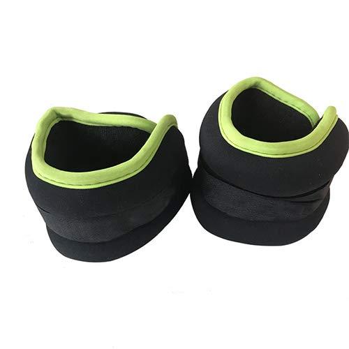 Pesos del tobillo/de la muñeca (1 par) para las mujeres, los hombres y los cabritos-peso totalmente ajustable para el brazo, mano y pierna-mejor para caminar, trotar, gimnasia, aerobic (0.5 kg * 2)