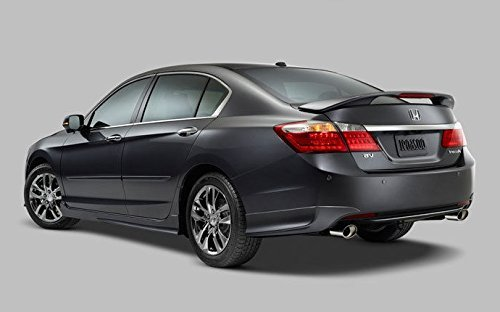 JSP Rear Wing Spoiler Compatible with 2013-2016 Honda Accord Sedan Factory Style Primed with LED 368066