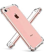iPhone 6s Plus Case Shockproof Clear TPU Phone Case for iPhone 6Plus 6S Plus 4 Corner Anti-fall Soft Transparent Protection (iPhone 6Plus/6s Plus, Transparent)