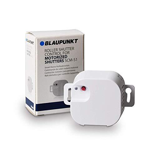 Blaupunkt SCM-S1 Smart Home Rollladenrelais Sicherheitssysteme der Q-Serie: Rollläden, Garagentore, Markisen, Jalousien oder Ähnliches automatisieren und per App steuern