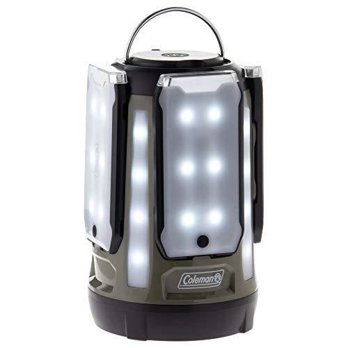 【Amazon.co.jp限定】コールマン(Coleman) ランタン クアッドマルチパネルランタン LED 乾電池式 約800ルーメン オリーブ 2000036678
