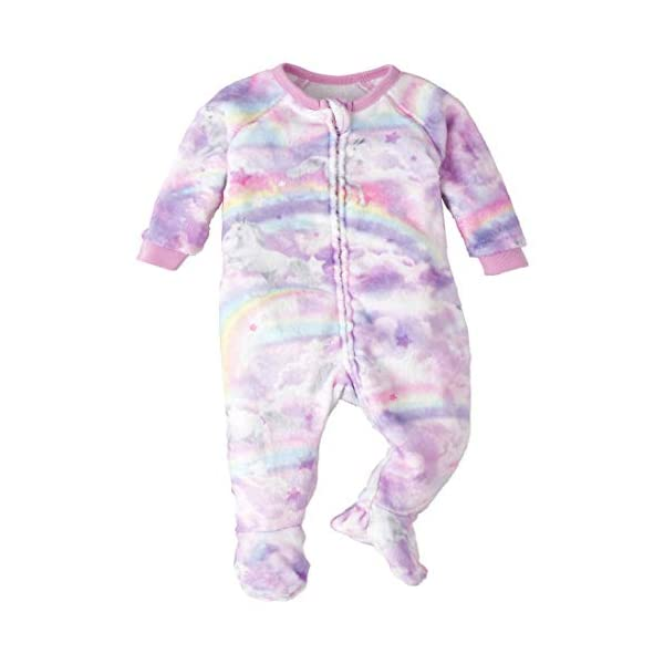 The Children's Place Baby Girls' Printed Blanket Sleeper