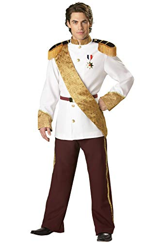 InCharacter Royal Prince Charming Adult Costume, Large White/Gold - http://coolthings.us
