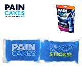 PAINCAKES Wrap Stickable Cold Pack That Stays in Place- Reusable Cold Therapy Ice Pack Conforms to Body, 1 Wrap (Blue- 10')