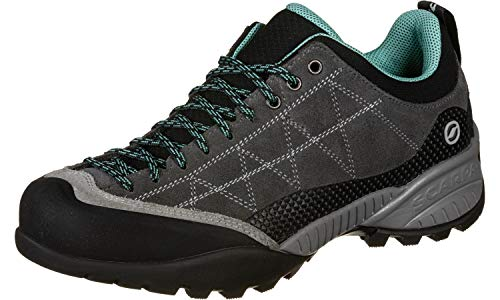 Scarpa Zen Pro Women, 39,0/39 EU, Shark/Green Blue