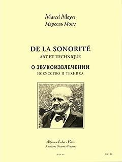 Moyse Marcel de la Sonorite Art et Technique Flte Bk Russian Version