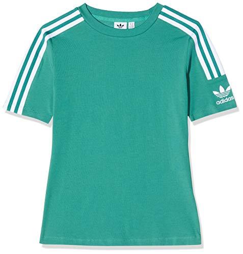 adidas Damen T-shirt Tight Tee, future hydro f10/White, D34