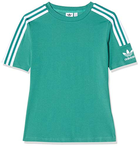 adidas Damen T-shirt Tight Tee, future hydro f10/White, D34