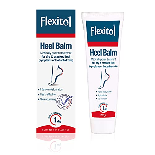 Flexitol Heel Balm, Rich Moisturizing & Exfoliating Foot Cream, 4 Oz...