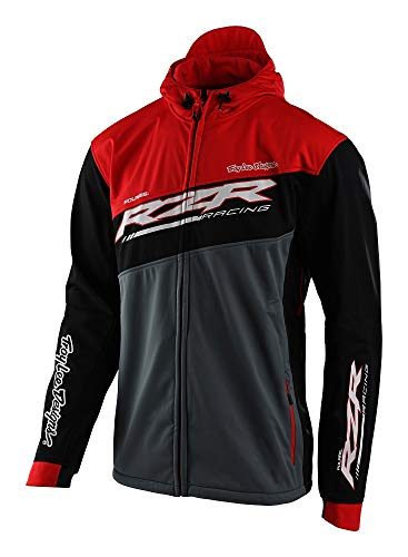 Troy Lee Designs Men's TLD Polaris RZR Tech Pit Jackets,Large,Black/Red
