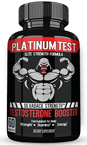Stamiron Testosterone Booster for Men with Estrogen Blocker - 1500mg Plus Potent Formula for Lean Muscle, Natural Energy, Endurance, and Strength Male Enhancement Pills - 60 Premium Caplets