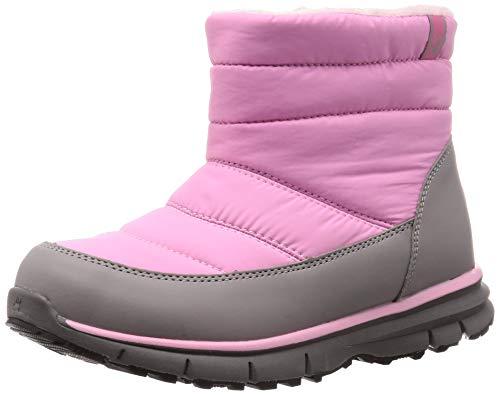 [ベアパウ] LIGHT BEAR KIDS スノーブーツ ジュニア キッズ ウインター ブーツ 防水 防寒 トレーニング シューズ 靴 雪 スキー Pink 21.0 cm