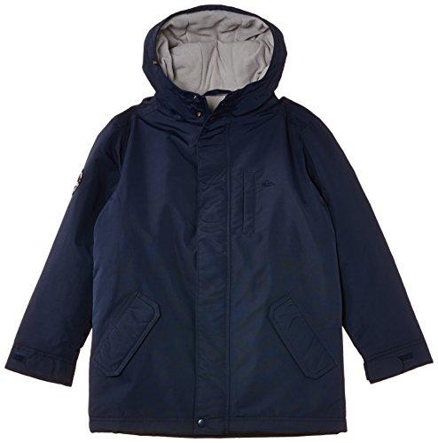 Quiksilver Munsee - Manteau - Uni - Garçon - Bleu (Navy Blazer) - FR: 12 ans (Taille fabricant: 12 ans)