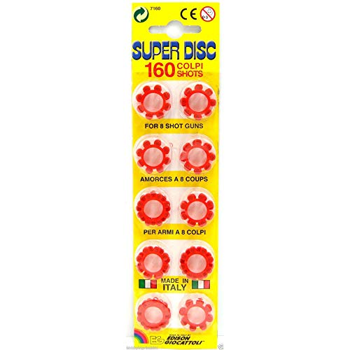 Edison Gattoli Platzpatronen 8-Schuss-Ringe, 60Ringe (480Schuss)