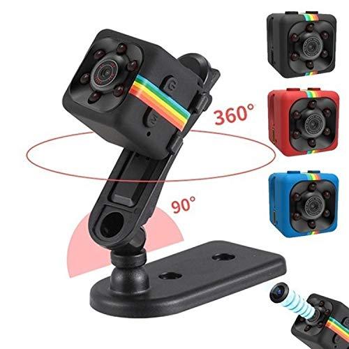 Fandazzie Mini Cámara Espia HD 1080 Mini Coche Cámara de 360 Grados de Grabación de Video, Cámara De Deporte o Webcam, Soporte Micro SD, Apoye la Visión Nocturn Cámaras espía