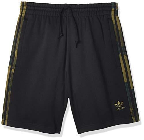 adidas Herren CAMO Sport Shorts, Black, M