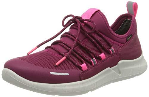 Superfit Mädchen THUNDER Sneaker, (Rot/Rosa 50), 36 EU