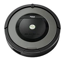 iRobot Roomba 866 Staubsauger-Roboter (65 Watt) schwarz/grau