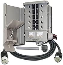 Connecticut Electric 10-7501G2KIT EmerGen Manual Transfer Switch Kit, 10 Circuit