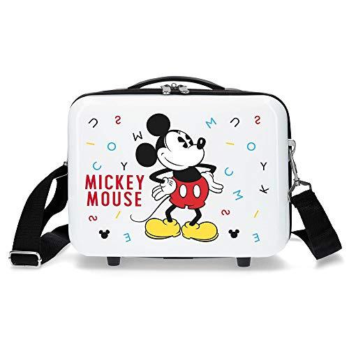 Disney Style Kosmetikkoffer 29 centimeters 9.14 Weiß (Blanco)