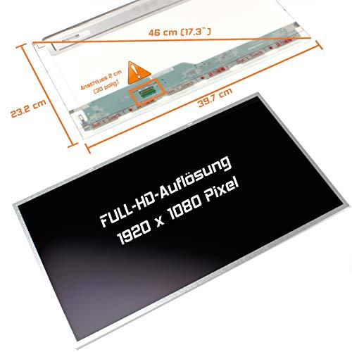 "Laptiptop 17,3\"" LED Display matt passend für Acer Aspire F17 F5-771G-737N Bildschirm Full-HD"