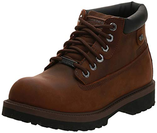 Skechers mens Verdict Fashion Boot, Dark Brown, 11 US