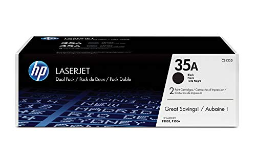 HP 85A 2er-Pack (CE285AD) Schwarz Original Toner für HP LaserJet Pro P1102, P1102w, M1132, M1212, M1214, M1217