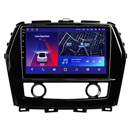 ADMLZQQ Radio de Coche Android 10 Autoradio para Nissan Maxima A36 2015-2020 Navegador GPS con WIFI/4G/Bluetooth/USB/Control del Volante/Enlace Espejo/Cámara Trasera,8core 4g+WiFi: 4+64g