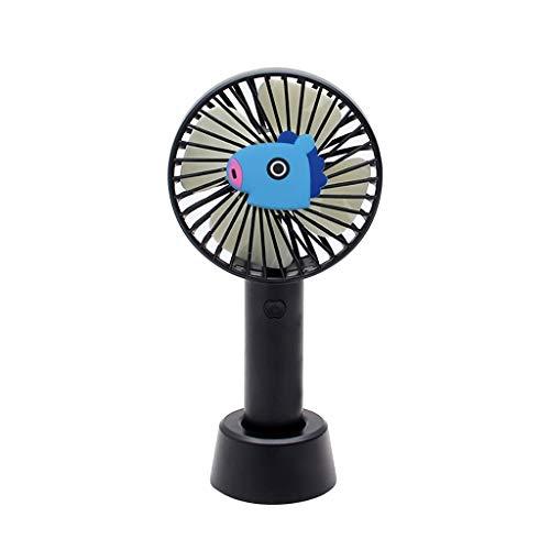 XRZMD Ventilador de Grupo Juvenil Soporte Ventilador de Mano Mini Ventilador Mini...