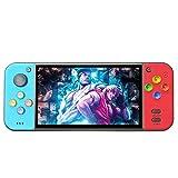 Jhana Consola de juegos portátil retro de 5,0 pulgadas, 3000 juegos integrados, salida de TV HDMI, consola de videojuegos (multicolor)