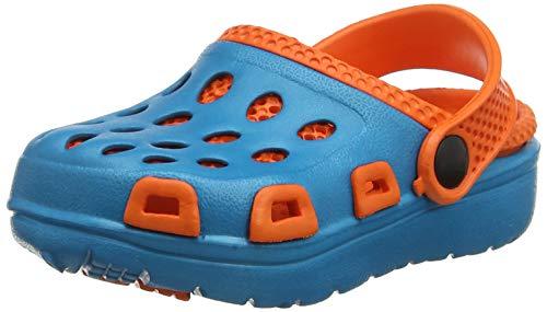 Aqua Speed Herren Silvi Kinder Poolschuhe Blau/Orange Größe 33