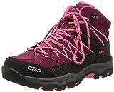CMP – F.lli Campagnolo Kids Rigel Mid Trekking Shoe WP, Botas de Senderismo Unisex Adulto, Pink Goji Gloss 20he, 37 EU