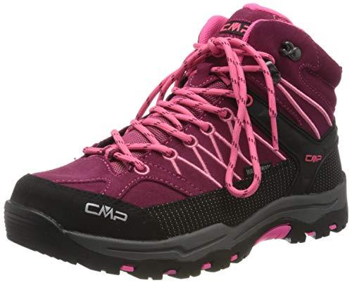CMP – F.lli Campagnolo Unisex Kids Rigel Mid Shoe Wp Trekking-& Wanderstiefel, Pink (Goji-Gloss 20HE), 39 EU