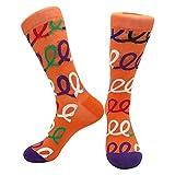 3 Pares de Productos de otoño e Invierno Calcetines de algodón para Hombres Personalidad Divertidos Dibujos Animados geométricos Calcetines Deportivos Transpirables para Hombres-a43-One Size