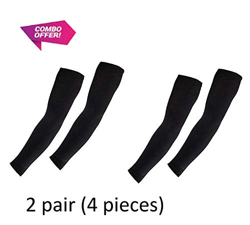 UV-Protection Arm Sleeves, hand socks for men and women (unisex) used for driving,hiking, sports,biking, cycling,sunburn, dust & pollution protection