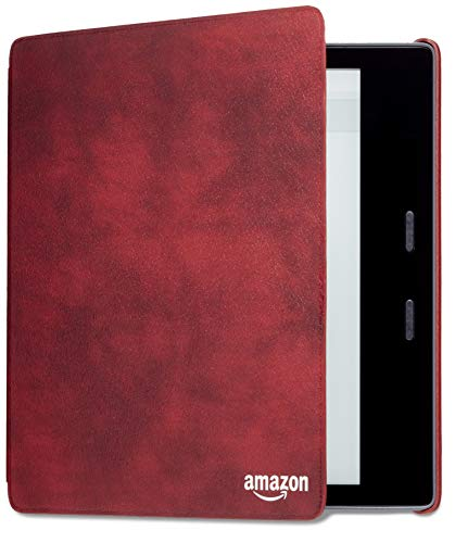 Capa de couro para Kindle Oasis - Cor Vinho