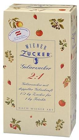 Wiener Zucker - Gelierzucker 2:1-500 g