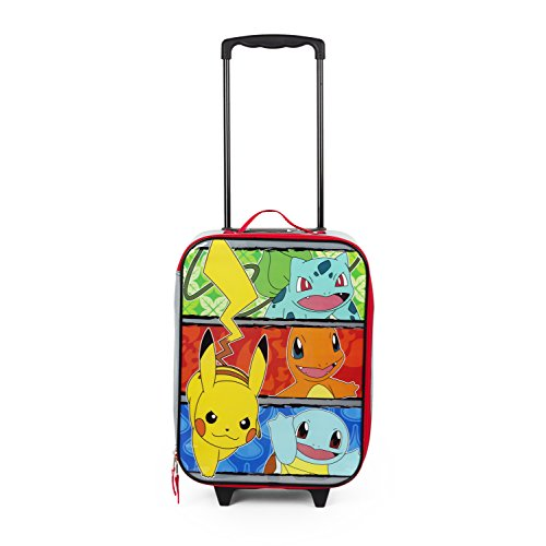 Pokemon and Friends Pilot Case, Multi, One Size