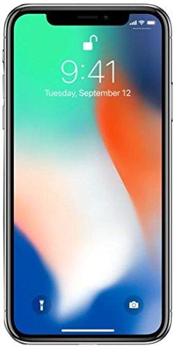 """Apple iPhone X Prateado 256GB com 5,8"""", iOS 11, Processador A11 64 bits, Câmera dupla de 12 MP Desbloqueado"""