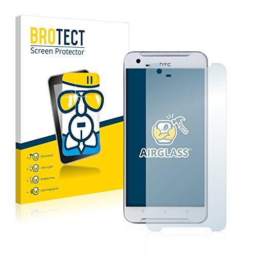 BROTECT Panzerglas Schutzfolie kompatibel mit HTC One X9 - AirGlass, extrem Kratzfest, Anti-Fingerprint, Ultra-transparent